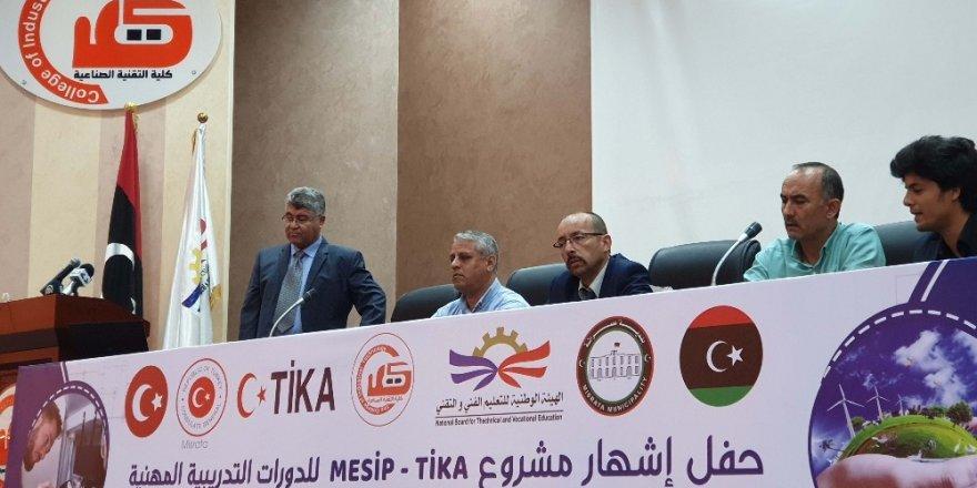 TİKA'dan Libya'da mesleki eğitimi kursları