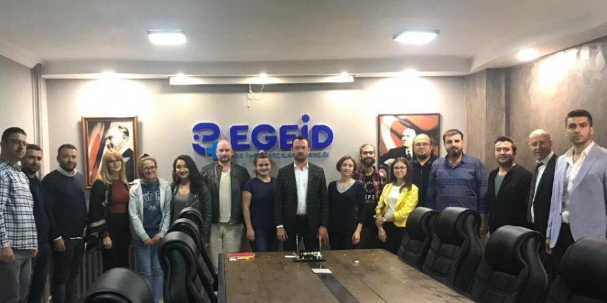 Dört ülkeden EGEİD'e ziyaret
