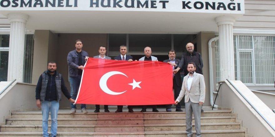 Osmaneli 'deki bütün siyasi partilerden Barış Pınarı Harekâtına destek
