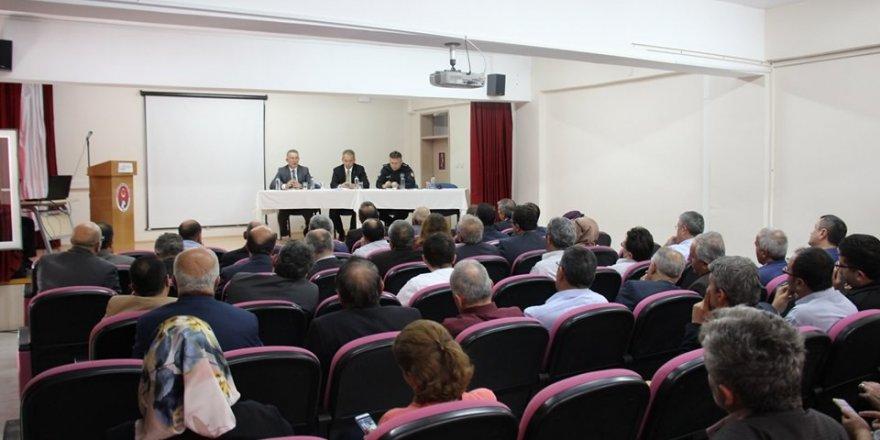 Tosya'da ilçe danışma kurulu toplantısı yapıldı
