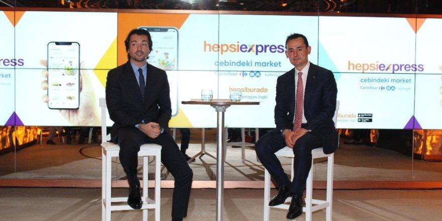 Hepsiburada ve CarrefourSA'dan online alışverişe boyut atlatacak iş birliği