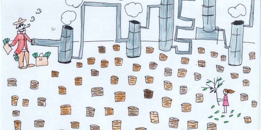 Aydın'da jeotermal konulu karikatür yarışması sonuçlandı