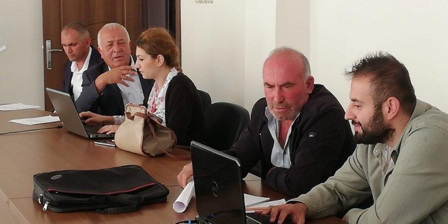 FKA bölgede anket çalışması yapıyor