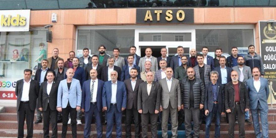 Ağrı'da STK'lar'dan Feyzioğlu'na destek