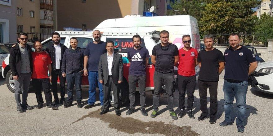 Sivas'tan sınıra sağlıkçı çıkarması