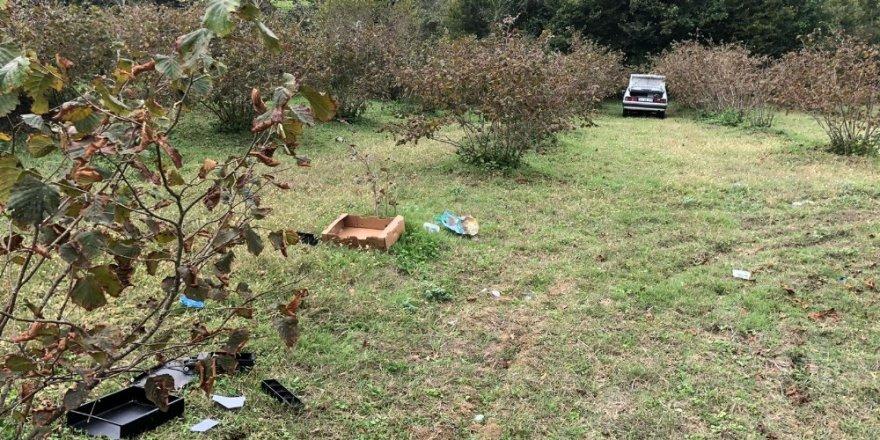 Sakarya'dan çalınan otomobil Kandıra'da terk edilmiş halde bulundu