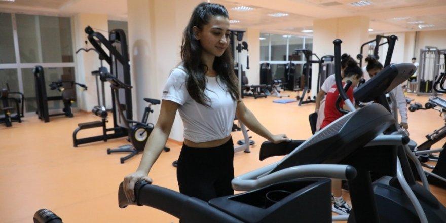 Bartın Üniversitesi'nde Fitness Salonu açıldı