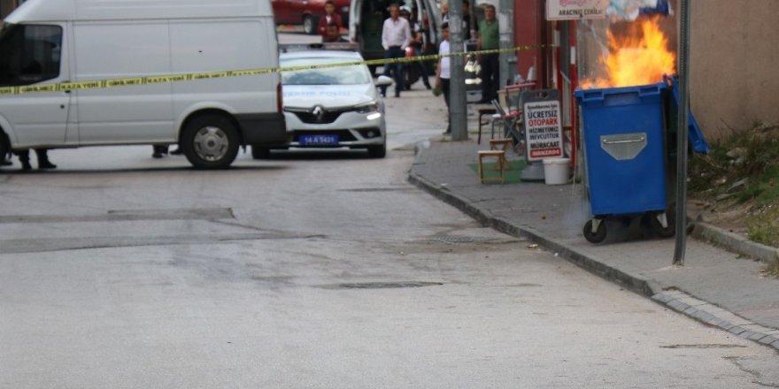 Bolu'da, çöp konteynerine konulan şüpheli paket patlatıldı