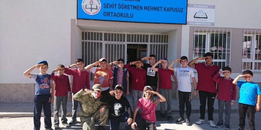 Ordu'nun Duası şiiri ile Mehmetçiğe destek klip'i çektiler