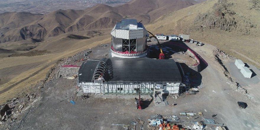 DAG teleskobunun testleri İtalya'da devam ediyor