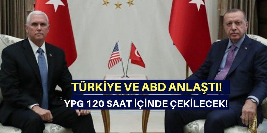 Sondakika...ABD ve Türkiye anlaştı!