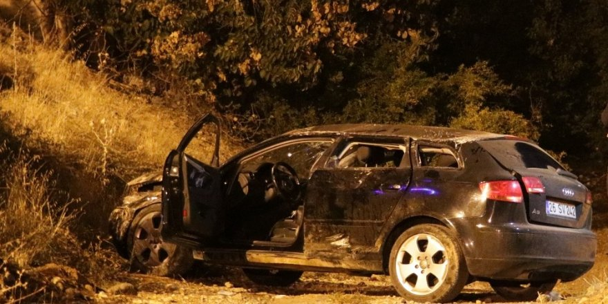 Kahramanmaraş'ta trafik kazası: 3 yaralı
