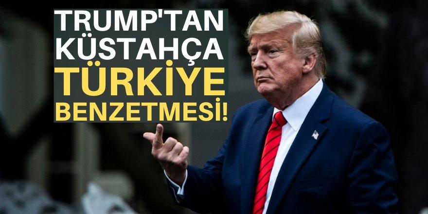 Trump'tan küstah açıklama!