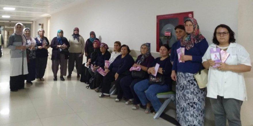Alaşehirli kadınlara ücretsiz kanser taraması
