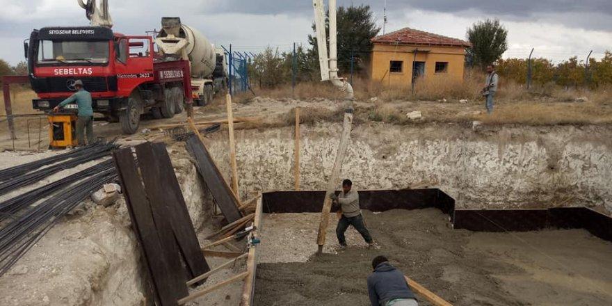 Tepecik Mahallesi'ne  su deposu yapılıyor
