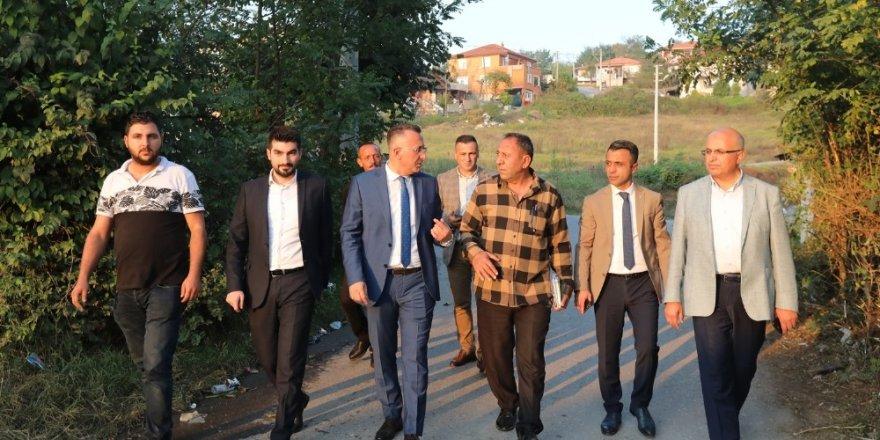Başkan Işıksu, Çamyolu Mahallesi'nde vatandaşlarla buluştu