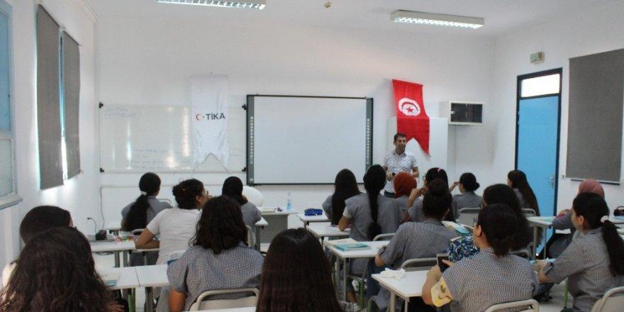 TİKA'dan Tunus'ta eğitime destek