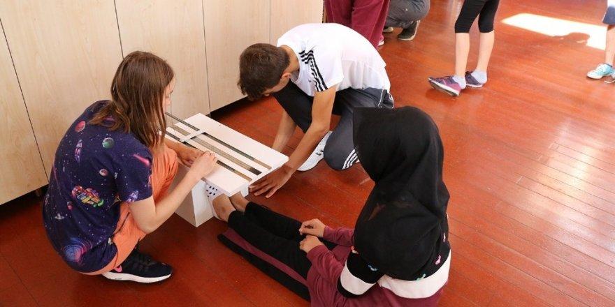 Macera Park'ta eğitim faaliyetleri sürüyor
