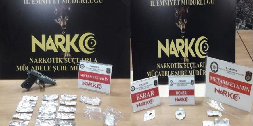 Eskişehir'de uyuşturucu operasyonu, 7 gözaltı