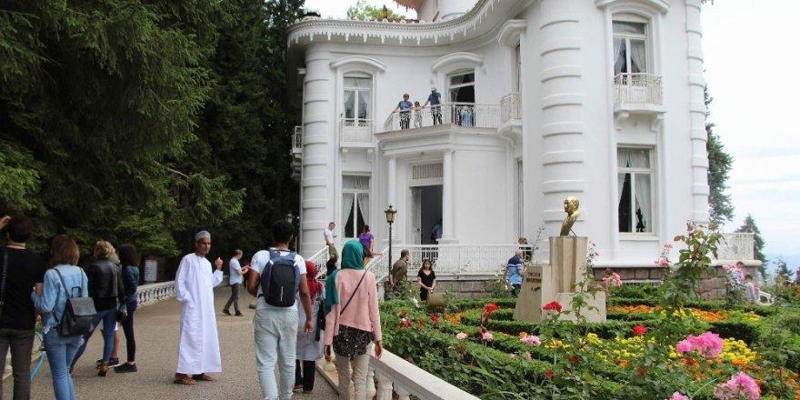 Trabzon'daki ören yerleri ve müzelere ziyaretçi  sayısında artış