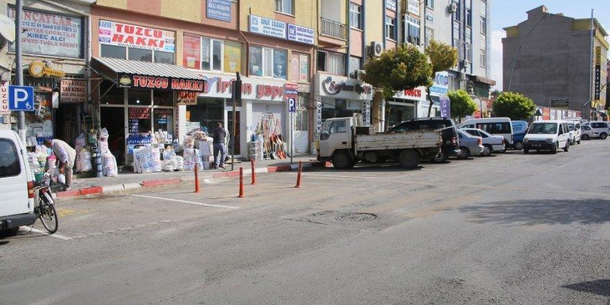 Karaman Belediyesi yeni engelli araç parkları oluşturuyor