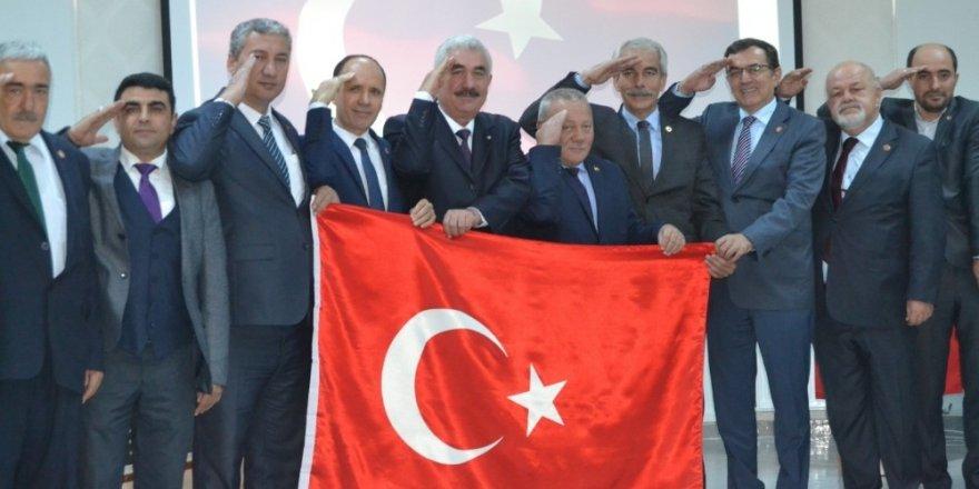 İl Genel Meclis üyelerinden Mehmetçik Vakfı'na destek