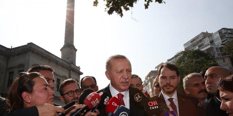"""Cumhurbaşkanı Erdoğan: """"Güvenlik güçlerimiz alanı terk etmeyecek"""""""