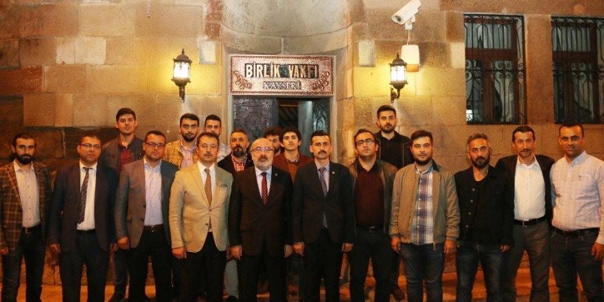 KAYÜ Rektörü Prof. Dr. Kurtuluş Karamustafa, Genç Birlik Vakfı'nın Ekim Ayı Dost Meclisi Konuğu Oldu