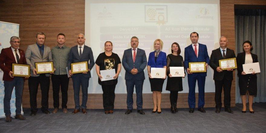 eTwinning kalite etiketi ödül töreni yapıldı