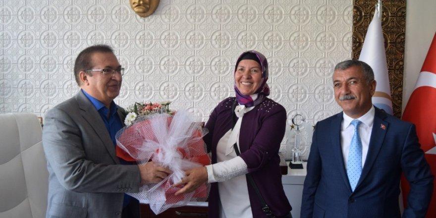 Muhtarlardan Başkan Kazgan'a ziyaret