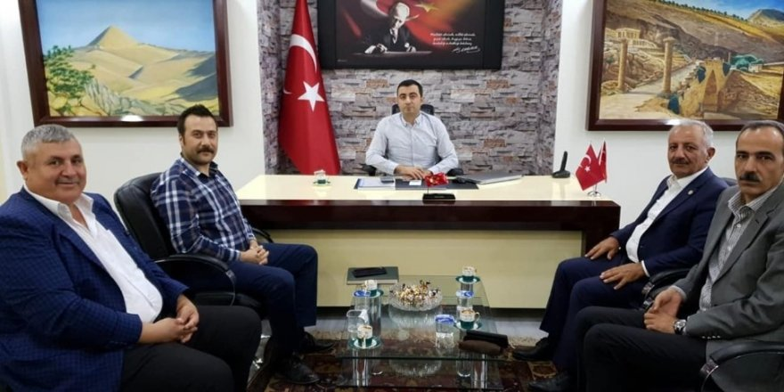 TZOB Genel Merkezi Müşaviri Atsan'dan Sincik'e ziyaret