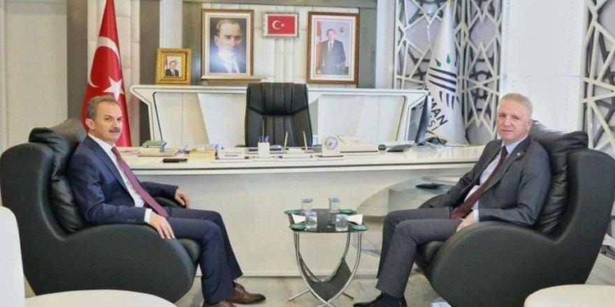 Gaziantep Valisi Gül ve Başkan Şahin'den, Başkan Kılınç'a ziyaret