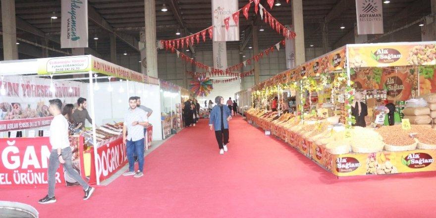 Adıyaman'da, gıda, yöresel ürünler ve hediyelik eşya fuarı başladı