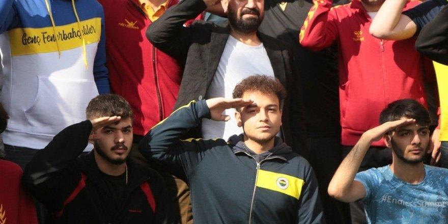 Taraftar dernekleri Malatya'dan Barış Pınarı'na selam gönderdi