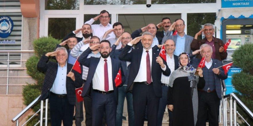 Simav Belediye Meclisi'nden Barış Pınarı Harekatı'na destek