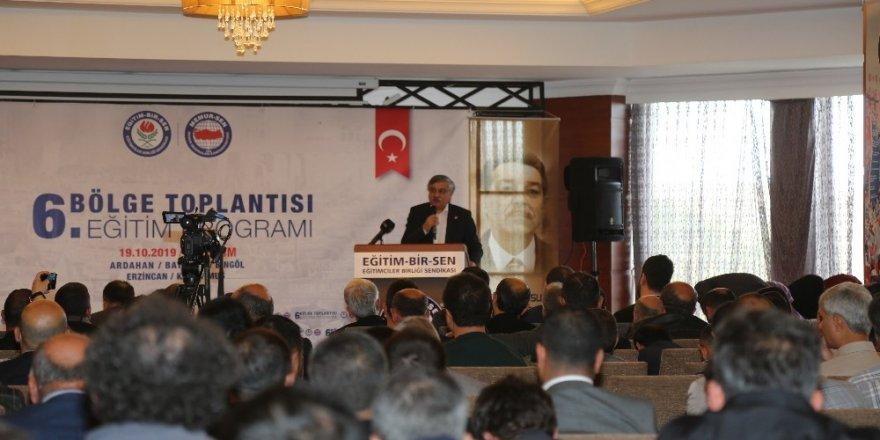 Eğitim-Bir-Sen ve Memur-Sen Genel Başkanı Ali Yalçın: