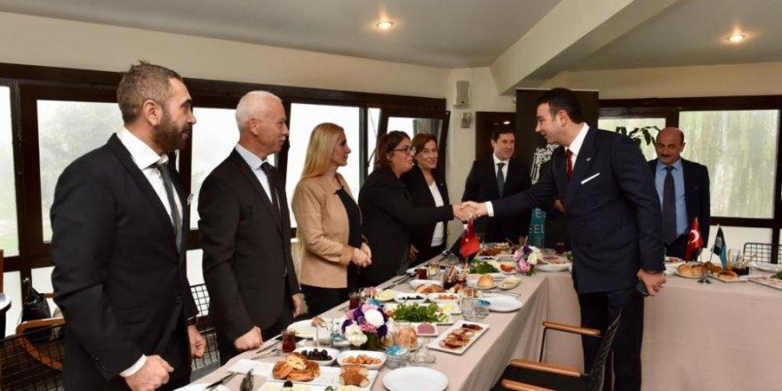 Beşiktaş'ta Muhtarlar Günü törenle kutlandı