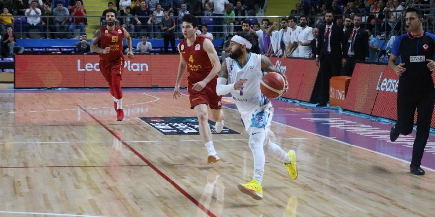 ING Bank Basketbol Süper Ligi: Afyon Belediyespor: 67 - Galatasaray Doğa Sigorta: 68