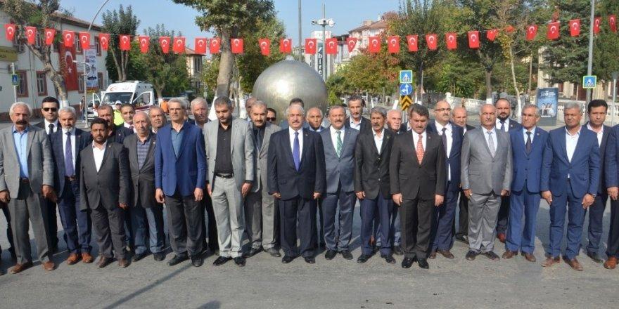 Malatya'da 19 Ekim Muhtarlar Günü kutlandı