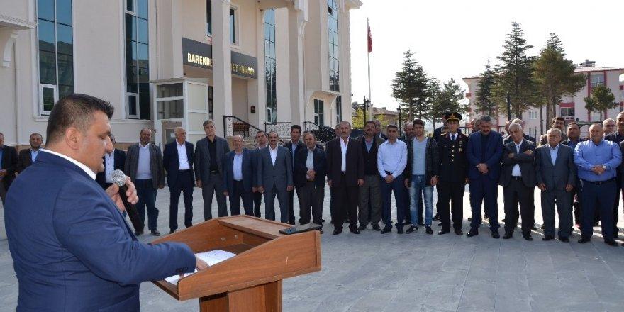19 Ekim Muhtarlar Günü Darende'de kutlandı