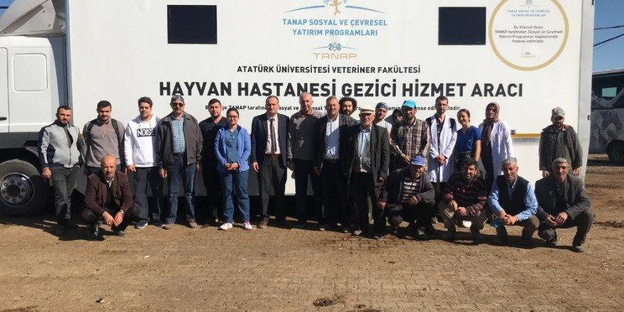 Mobil Hayvan Hastanesi Horasan'da