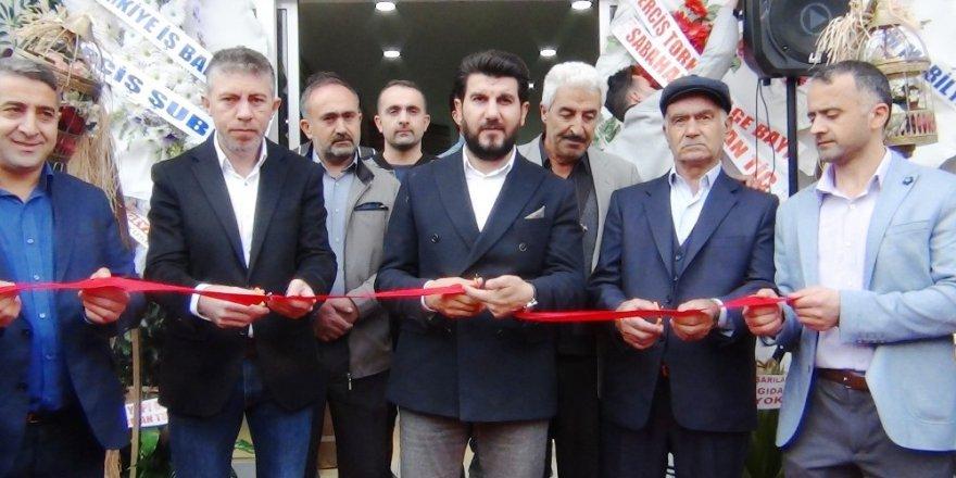 Erciş'in en büyük alışveriş merkezi hizmete açıldı