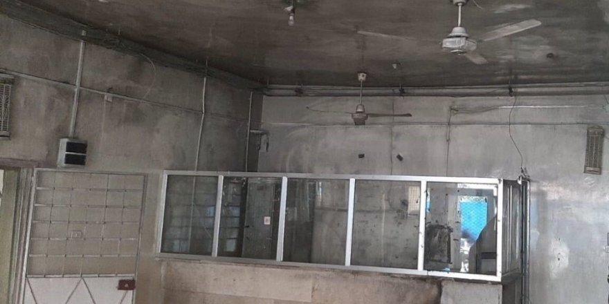 """MSB: """"PKK/YPG tarafından Tel Abyad Hastanesi'ndeki malzemelerin yakıldığı tespit edildi"""""""
