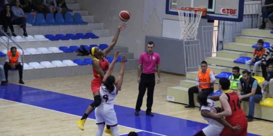 Kadınlar Basketbol Süper Ligi: Elazığ İl Özel İdare: 83 - Kayseri Basketbol: 68