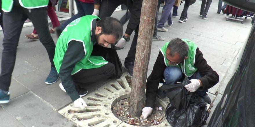 Temiz bir geleceğe el uzattılar, çevre temizliği yaptılar