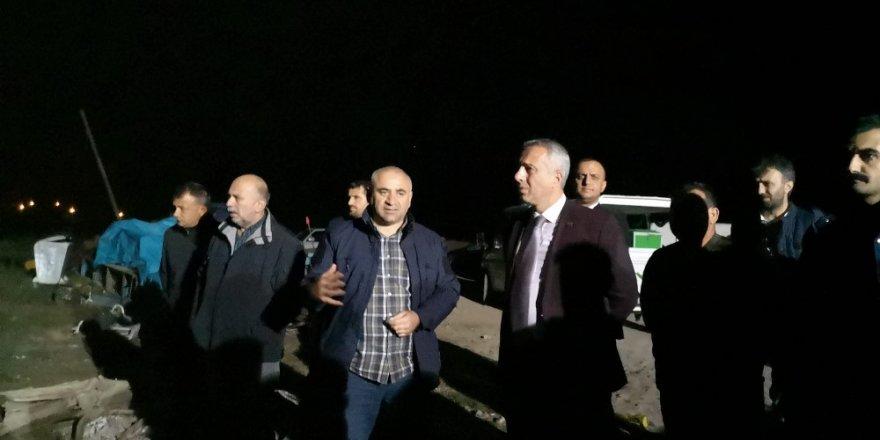 Başkan Babaoğlu, Sakarya Nehri'ne düşen kişilerin ailelerine sabır diledi