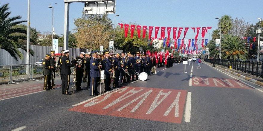 İstanbul'da Cumhuriyet Bayramı askeri tören provası