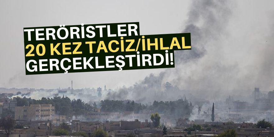 PKK/YPG'li teröristlerce ihlal yapıldı!