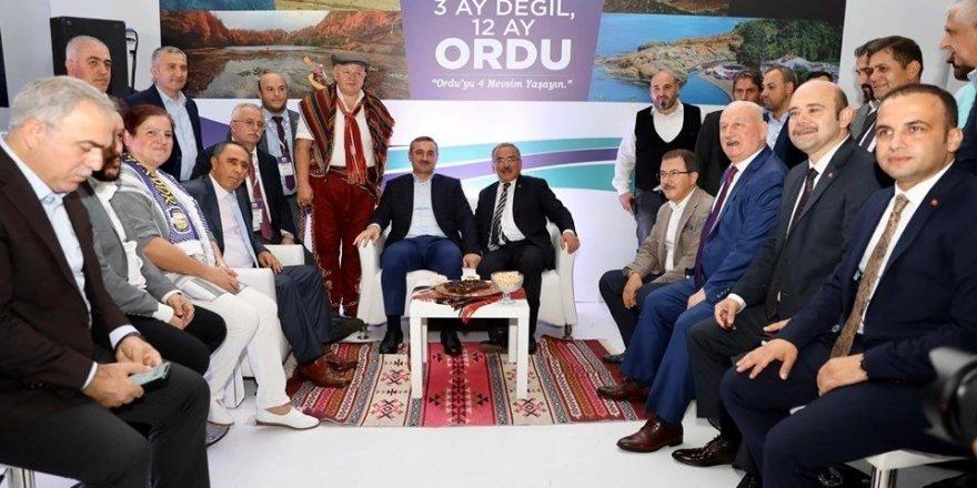 """Başkan Güler: """"Ortak paydamız Ordu"""""""
