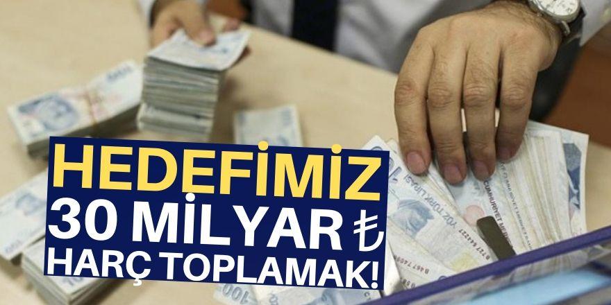 Devlet gelecek yıl 30,2 milyar lira harç toplayacak!